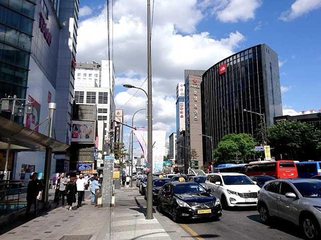 ソウルの街並み
