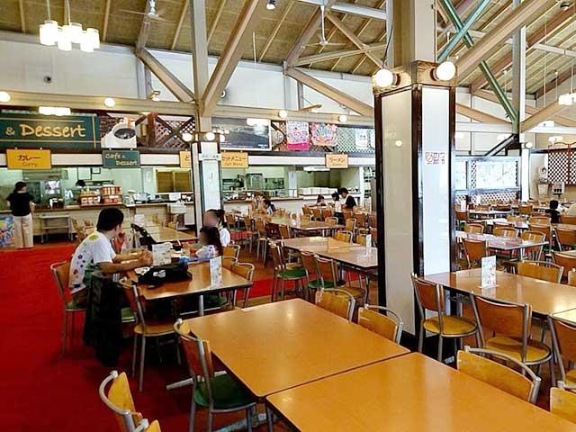 六甲山カンツリーハウスのレストラン