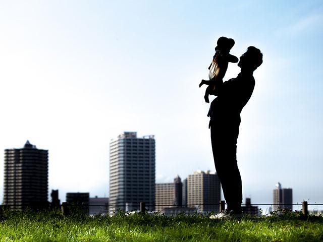 父親と自分の子供