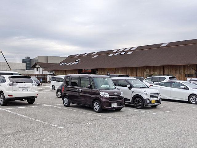 神戸どうぶつ王国の駐車場