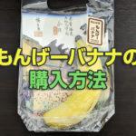 もんげーバナナの購入方法